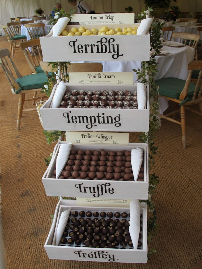 Terribly Tempting Truffle Trolley